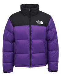 The North Face Purple 1996 Retro Nuptse Down Jacket for men