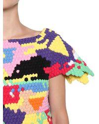 Helen Rodel - Multicolor Hand Crocheted Cotton Sweater - Lyst