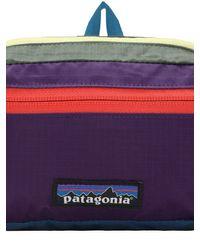 メンズ Patagonia Ultralight Black Hole ミニベルトバッグ Blue