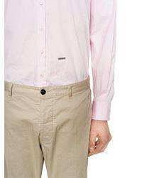 DSquared² - Multicolor Bluse Aus Stretch-baumwollpopeline for Men - Lyst