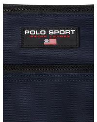 メンズ Polo Ralph Lauren ナイロンベルトバッグ Blue