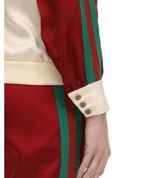 Felpa In Acetato di Gucci in Multicolor