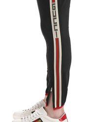 Pantalones De Gabardina Stretch Gucci de hombre de color Black