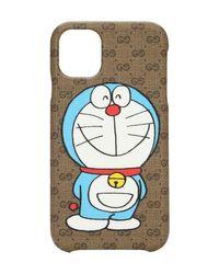 メンズ Gucci Doraemon X Iphone 11 ケース Brown