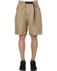 Nike - Natural Lab Woven Stretch Cotton Shorts for Men - Lyst
