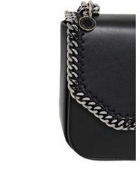 Stella McCartney Black Medium Falabella Box Shoulder Bag