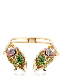 Casadei - Metallic Amazon Jungle Necklace - Lyst