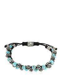 Cantini Mc Firenze - Metallic Kevlar Double Rose Bracelet for Men - Lyst