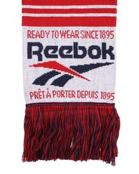 Reebok Cl Graphic Scarf Acc A マフラー Red