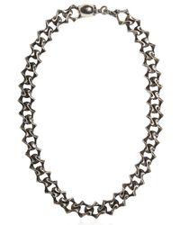 Emanuele Bicocchi - Metallic Silver Chain Necklace - Lyst