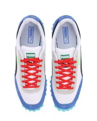 """Puma Select White Sneakers """"fast Rider Ride On"""""""