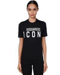 DSquared² ジャージーtシャツ Black