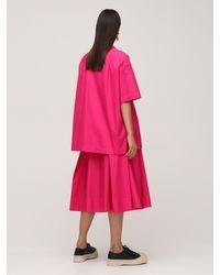 Marni コットンポプリンシャツ Pink