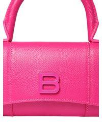 Balenciaga Hourg レザースマートフォンホルダー Pink