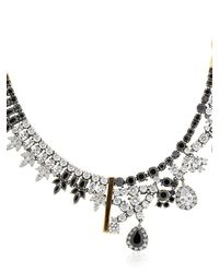 Iosselliani - Metallic Optical Memento Crystal Necklace - Lyst