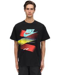 """Nike T-shirt Aus Baumwolljersey """"atmos Nrg"""" in Black für Herren"""