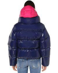 DSquared² ナイロン ダウンボンバージャケット Blue