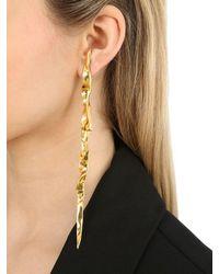 MISHO - Metallic Cascade Earrings - Lyst