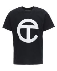 メンズ Telfar コットンジャージーtシャツ Black