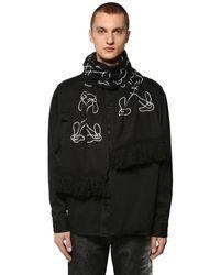 Écharpe En Intarsia Off-White c/o Virgil Abloh pour homme en coloris Black