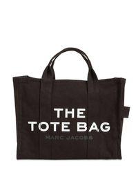 Сумка-тоут Из Канваса Marc Jacobs, цвет: Black