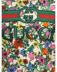 Свитшот Из Хлопка С Принтом Gucci, цвет: Green