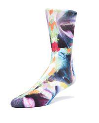 Maceoo | Blue Socks Face 2 for Men | Lyst
