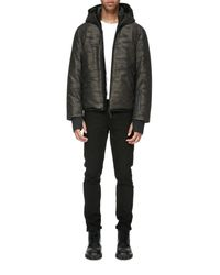 Mackage Multicolor Isidro-j Jacquard Down Jacket With Hood for men