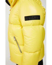 Manteau Bouffant De Duvet Léger À Capuche Amovible en Jaune Mackage pour homme en coloris Yellow