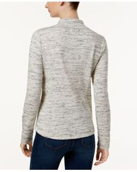Charter Club - Gray Petite Space-dyed Jacket - Lyst