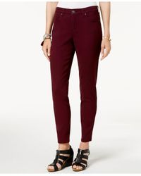Style & Co. Multicolor Curvy-fit Skinny Fashion Jeans, Created For Macy
