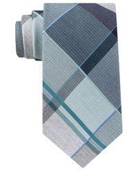 Michael Kors   Blue Men's Serenity Plaid Tie for Men   Lyst