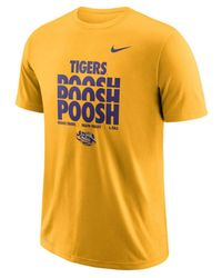 Nike Metallic Lsu Tigers Authentic Local T-shirt for men