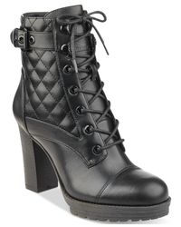 G by Guess - Black Gram Boots - Lyst