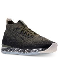 PUMA Black Jamming Casual Sneakers From Finish Line for men