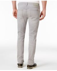 Joe's Jeans | Gray Men's Wraith Kinetic Slim-fit Stretch Destroyed Jeans for Men | Lyst