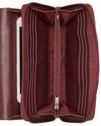 Giani Bernini - Multicolor Sandalwood Tooled Crossbody Wallet - Lyst
