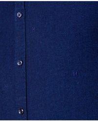 Tommy Hilfiger   Blue Men's New York-fit Shirt for Men   Lyst