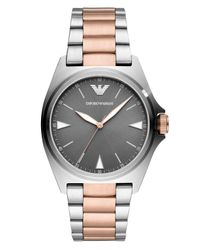 Emporio Armani Multicolor Two-tone Stainless Steel Bracelet Watch 40mm for men