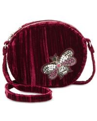Steve Madden - Red Lotus Canteen With Bug Appliqués - Lyst