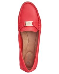 Giani Bernini Red Dailyn Slide-on Loafers