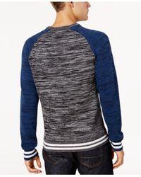American Rag - Blue Men's Varsity Sweater for Men - Lyst