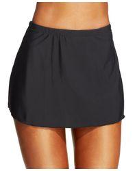 Miraclesuit - Black Swim Skirt - Lyst