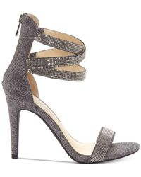 Jessica Simpson - Multicolor Elepina Rhinestone Sandals - Lyst