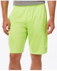 Champion | Yellow Men's Vapor Powertrain Shorts for Men | Lyst