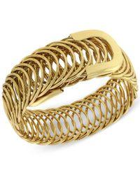 2028   Metallic Gold-tone Belt Bracelet, A Macy's Exclusive Style   Lyst