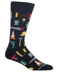 Hot Sox - Black Men's Tools Socks for Men - Lyst