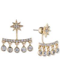Ivanka Trump Metallic Crystal Chandelier Earring Jackets