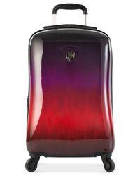 "Heys - Multicolor Ombré Sunset 21"" Carry-on Hardside Spinner Suitcase for Men - Lyst"