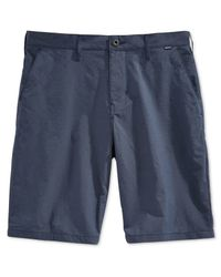 Hurley | Blue Men's Dri Fit Chino Shorts for Men | Lyst